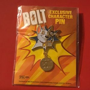 🌺Bolt exclusive Character pin🌺